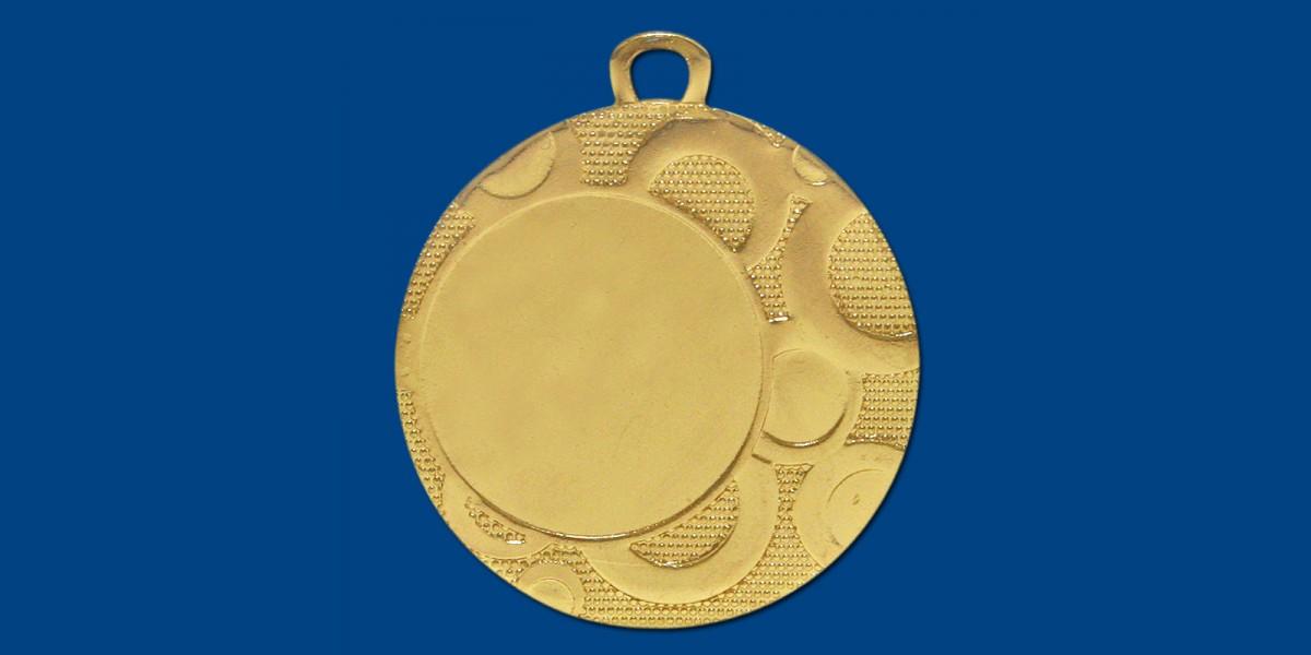 Μετάλλια ΜΤ168 Φ40, σε 3 χρώματα
