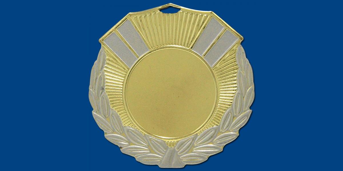 Μετάλλια ΜΤ403 Φ50 σε 2 χρώματα