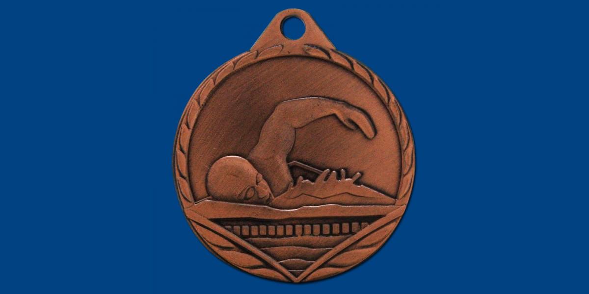 Μετάλλια ΜΤ517 Φ45 2 χρώματα