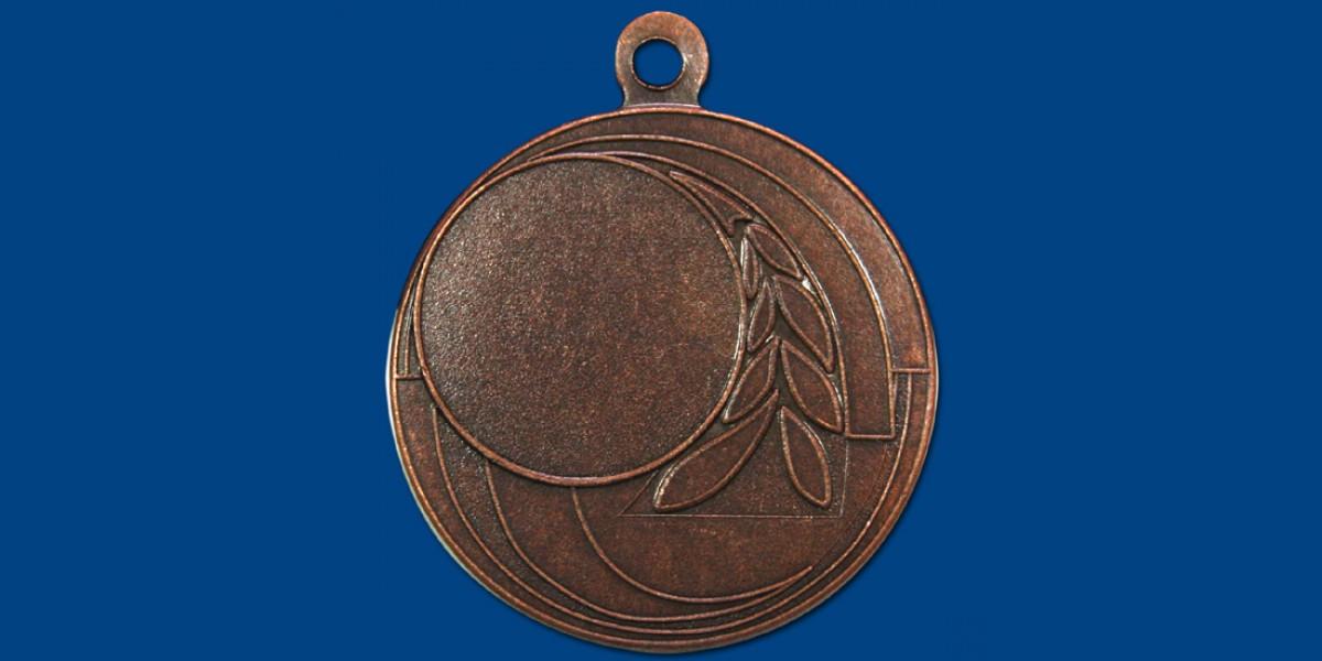Μετάλλια ΜΤ140 Φ45, σε 2 χρώματα